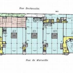 Location Bureau Lyon 7ème 4161 m²