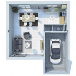 Maison  5 pièces + Terrain   m² Saint-Brieuc