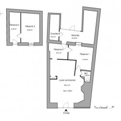 Location Local commercial Bourg-en-Bresse 115,35 m²