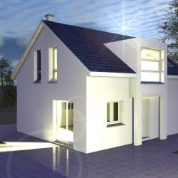Maison  5 pièces + Terrain  550 m² Seppois-le-Bas