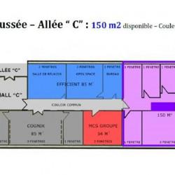 Location Bureau Écully 670 m²