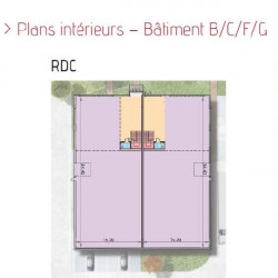 Location Local d'activités Bois-d'Arcy 677 m²
