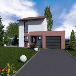 Maison  4 pièces + Terrain  1000 m² Chavanay