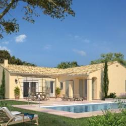 Maison  4 pièces + Terrain  458 m² Châteauneuf-du-Rhône