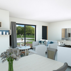 Maison  4 pièces + Terrain  500 m² Nîmes