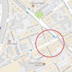 Location Local commercial Paris 11ème 18 m²