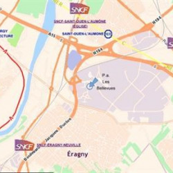 Location Bureau Éragny 389 m²