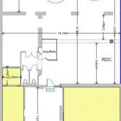 Location Local commercial Paris 19ème 213 m²