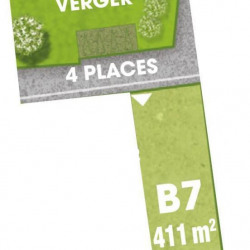 Vente Terrain Saint-Planchers 411 m²