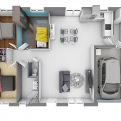 Maison  4 pièces + Terrain  315 m² Gétigné