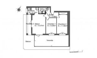 location Appartement 3 pièces Valras-Plage