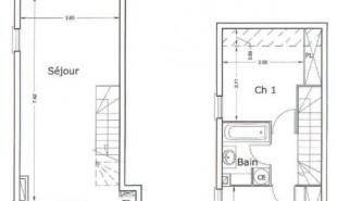produit d'investissement Appartement 3 pièces La Bretagne