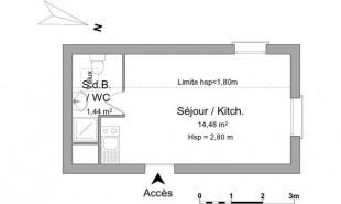 location Appartement 1 pièce Thonon