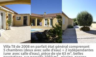 vente Maison / Villa 8 pièces Ferrals les Corbieres