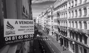 vente Appartement 4 pièces Lyon 2ème