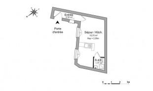 location Appartement 1 pièce Pontoise
