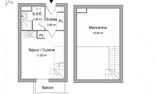 location Appartement 2 pièces Limonest