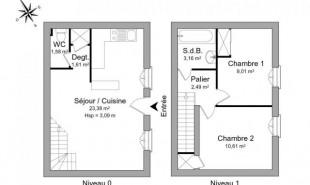 location Appartement 3 pièces Rochefort sur Mer