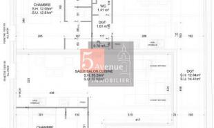 produit d'investissement Appartement 3 pièces Chantilly