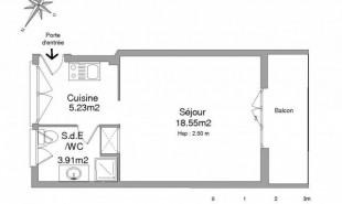 location Appartement 1 pièce Saint Cyr sur Mer