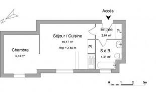 location Appartement 1 pièce T0ulouse