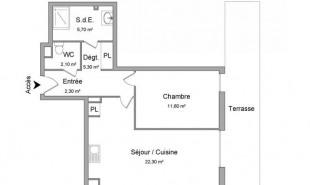 location Appartement 2 pièces Toulon