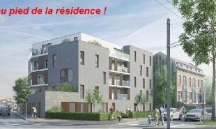 produit d'investissement Appartement 3 pièces Wasquehal