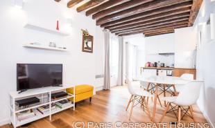 location Appartement 2 pièces Paris 1er