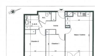 location Appartement 3 pièces Saint-Jean