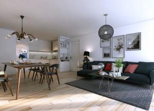 produit d'investissement Appartement 4 pièces Paris 20ème