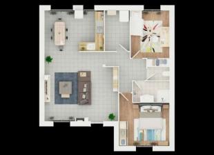 vente Maison / Villa 3 pièces Saint-Barthélemy-d'Anjou