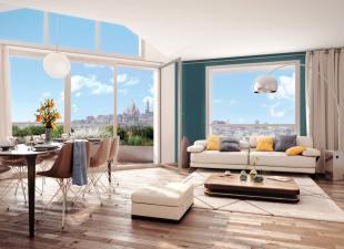produit d'investissement Appartement 4 pièces Paris 18ème