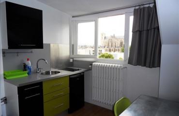Недвижимость в городе Ле-Ман, Земли Луары, Франция: 1-x комнатная квартира, площадью 13 m²