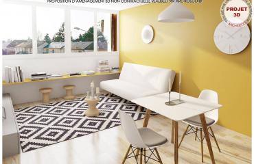Недвижимость в городе Ле-Ман, Земли Луары, Франция: 1-x комнатная квартира, площадью 27 m²