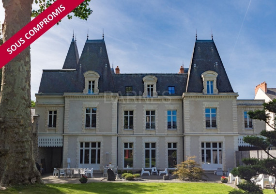 Vente Hôtel particulier de luxe Nantes (44000, 44100, 44200, 44300 ...