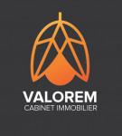 logo Valorem cabinet immobilier