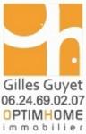 logo Guyet gilles agent mandataire optimhome