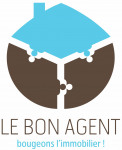 logo Le bon agent/ sourzat bertrand david