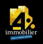 4 % immobilier
