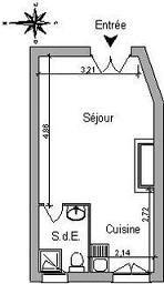 Location appartement Lyon 1er 437€ CC - Photo 1