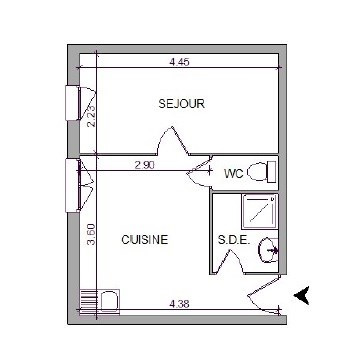 Location appartement Villefranche sur saone 283,42€ CC - Photo 5