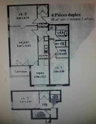 vente Appartement Corbeil essonnes