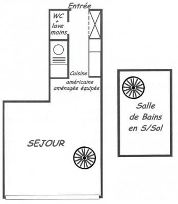 Location - Studio - 43,82 m2 - Paris 13ème - Photo
