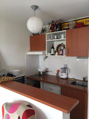 LIMOGES - T1bis loué dans résidence récente