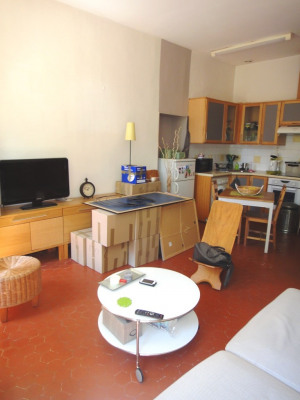 Appartement 2 pièces rez-de-chaussée