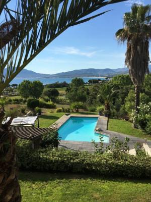 Propriété avec 2 Villas Piscine vue mer 6400m² terrain Porticcio