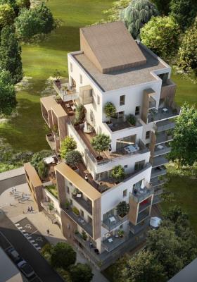 T3 de 62 M² avec 36 m² de terrasse et jardin
