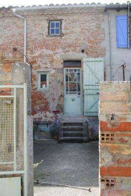 Maison de village (T3) avec cour