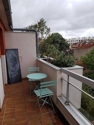 Jardin des plantes - studio avec balcon