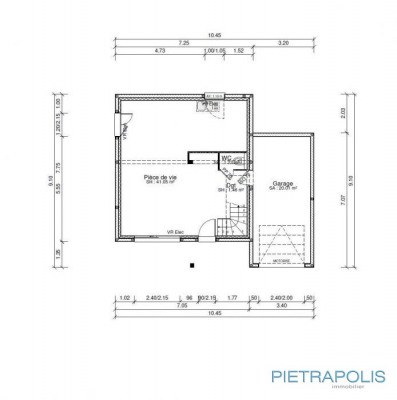 出售 - 空地 - 1214 m2 - Cour et Buis - Photo